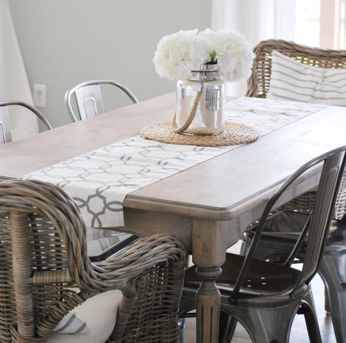 Cleaning Black Kitchen Table: PAINT THE WORLD WHITE By Brynne