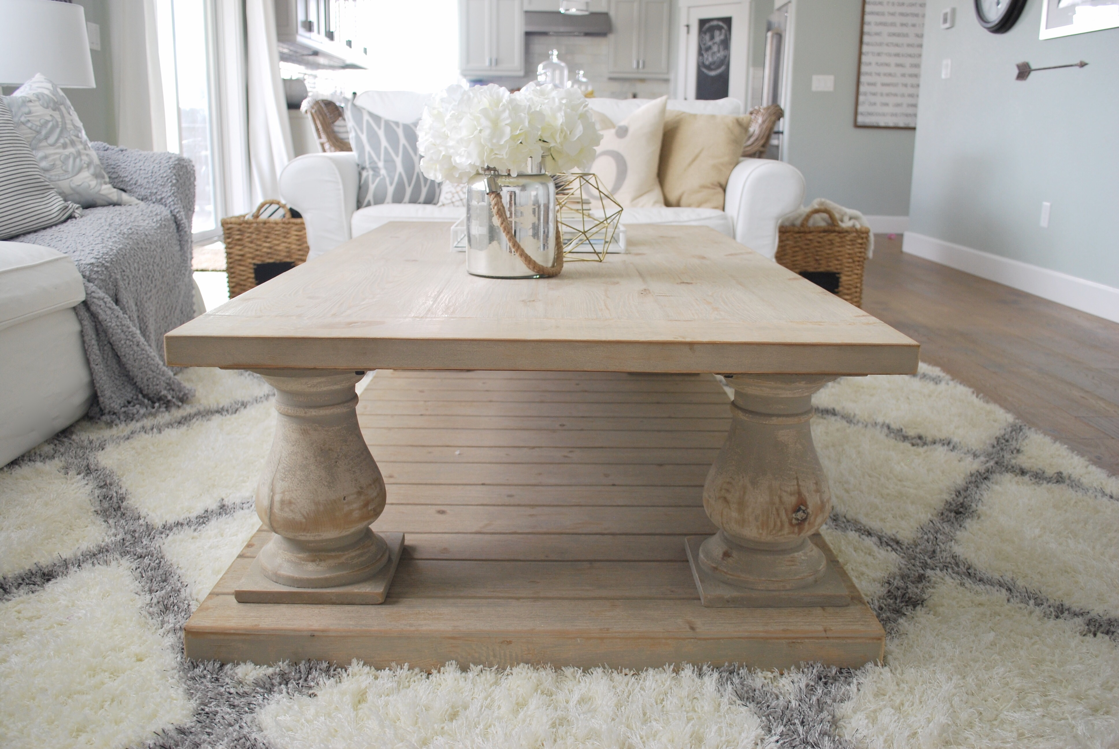WINFREY RECLAIMED PINEWOOD COFFEE TABLE