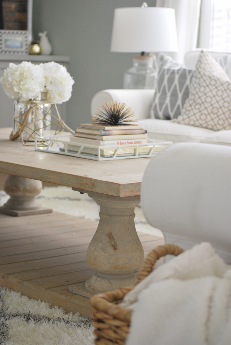 Winfrey Reclaimed Pinewood Coffee Table Paint The World