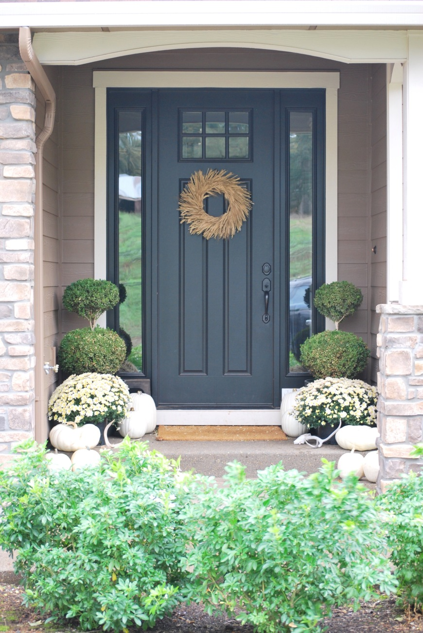 White Front Door Texture 3 tips for a tone on tone front porch | paint the world white